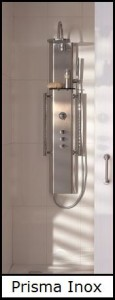 Prisma Inox Shower Column